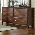 Lifestyle 5817 6-Drawer Dresser - Item Number: C5817A-040