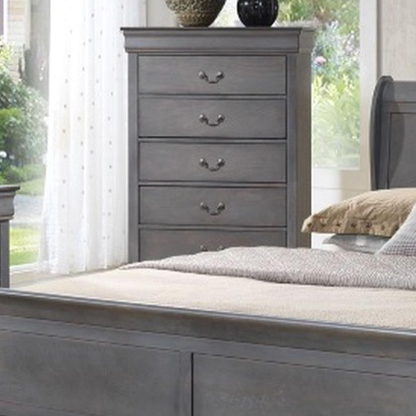 4934A 5 Drawer Chest by Lifestyle at Beck's Furniture