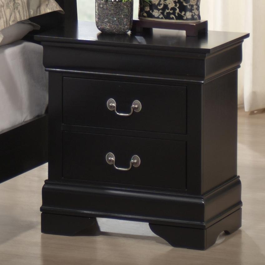 Lifestyle 5934 Night Stand - Item Number: C5934A-020-2DBL