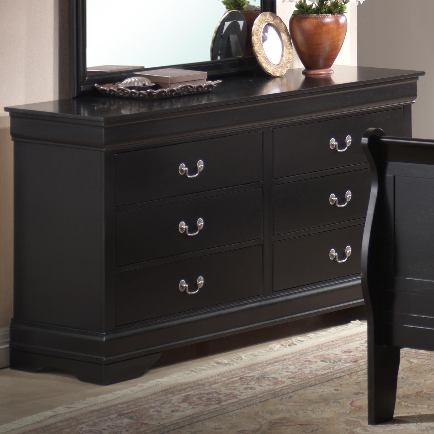 Lifestyle 5934 6 Drawer Dresser - Item Number: C5934A-040-6DBL