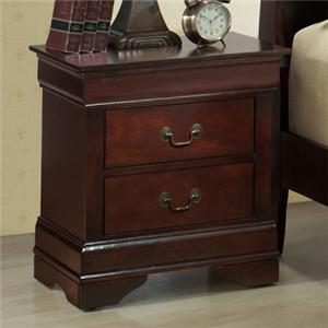 Lifestyle Louis Phillipe Nightstand