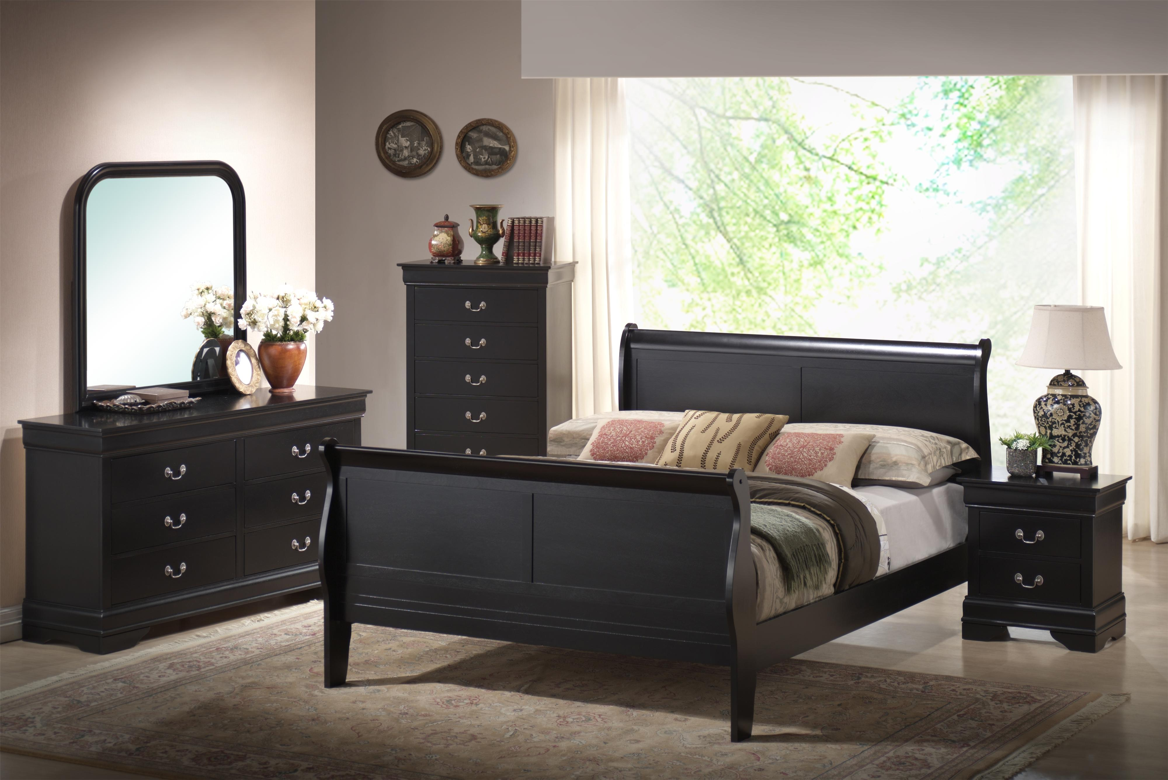 Lifestyle 5934 6 Piece Bedroom Group - Item Number: B5934-5