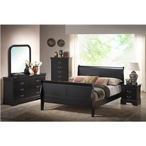 Lifestyle 5934 6 Piece Bedroom Group