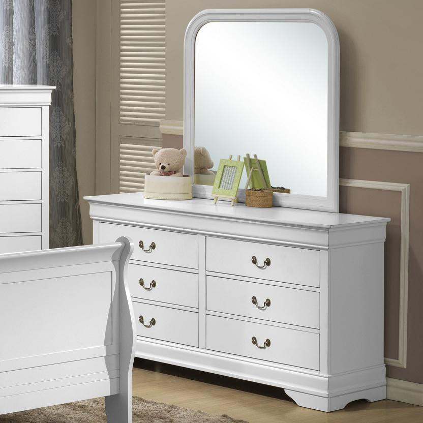 Lifestyle 5939 Dresser and Mirror - Item Number: C5939A-040+050