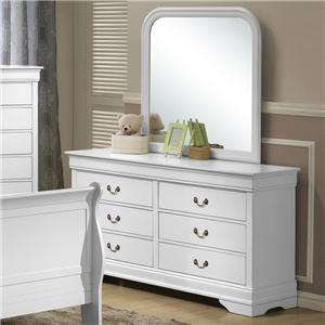 Lifestyle 5939 Dresser and Mirror