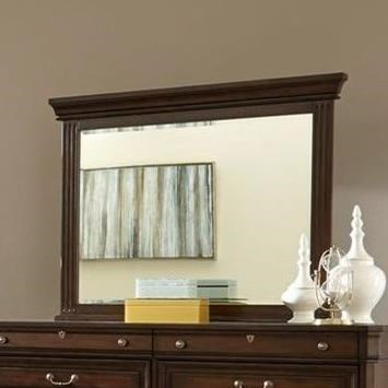 Lifestyle Harrison Mirror with Wood Frame - Item Number: C6168A-050-MHXX
