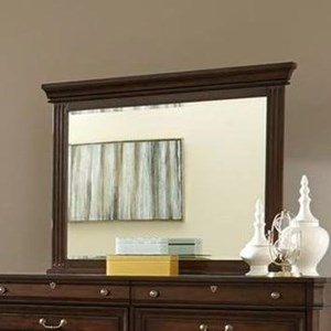 Lifestyle Harrison Mirror with Wood Frame