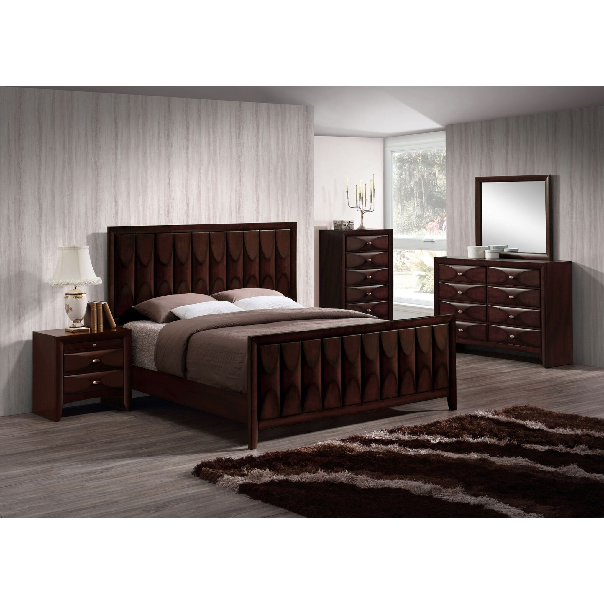 Lifestyle Banfield 5PC Queen Bedroom Set - Item Number: 6181B Q Bedroom Group