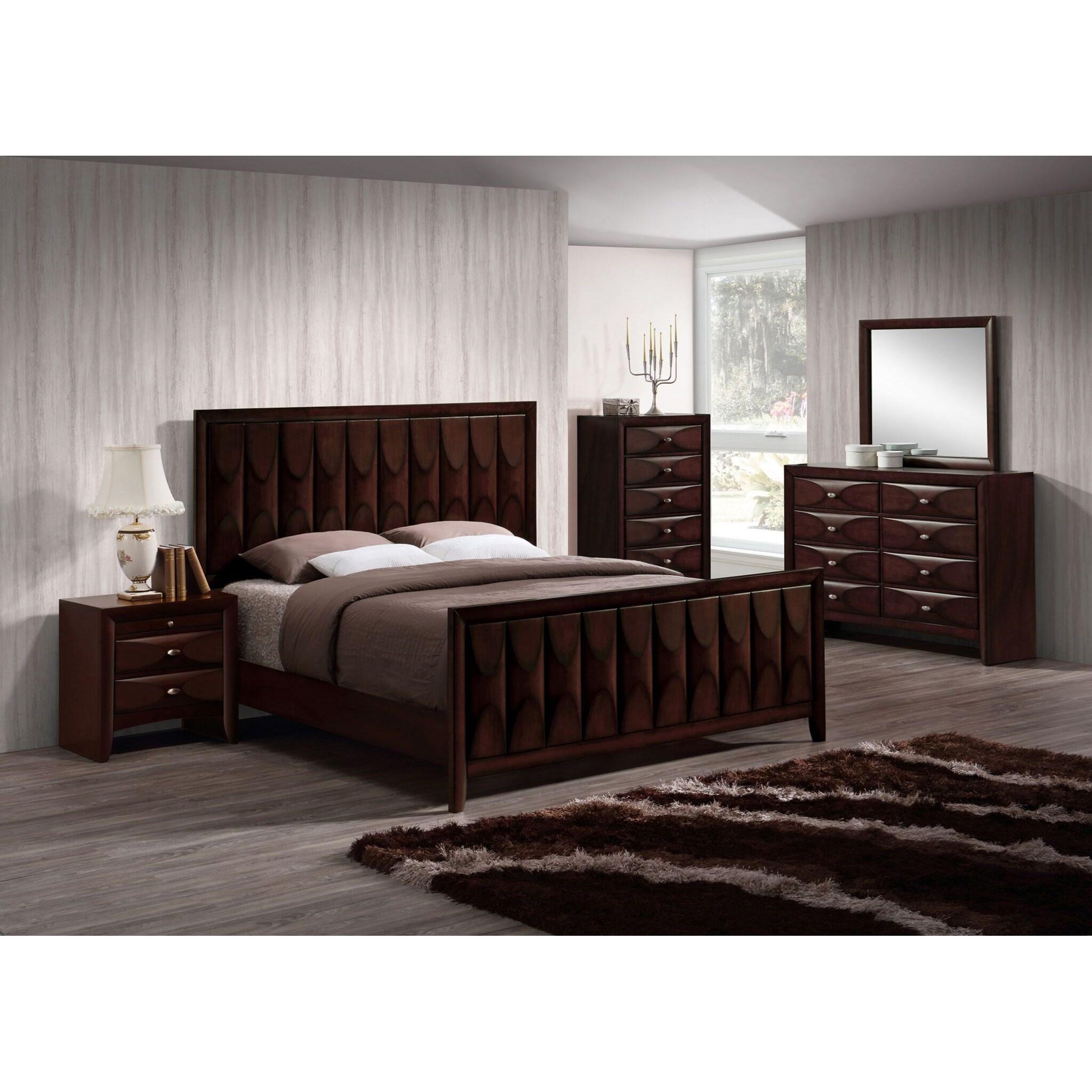 Lifestyle Banfield 5PC King Bedroom Set - Item Number: 6181B K Bedroom Group