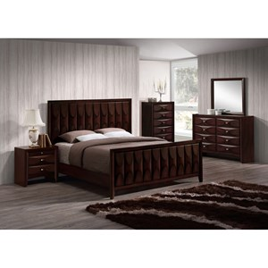 Lifestyle Banfield 5PC Queen Bedroom Set