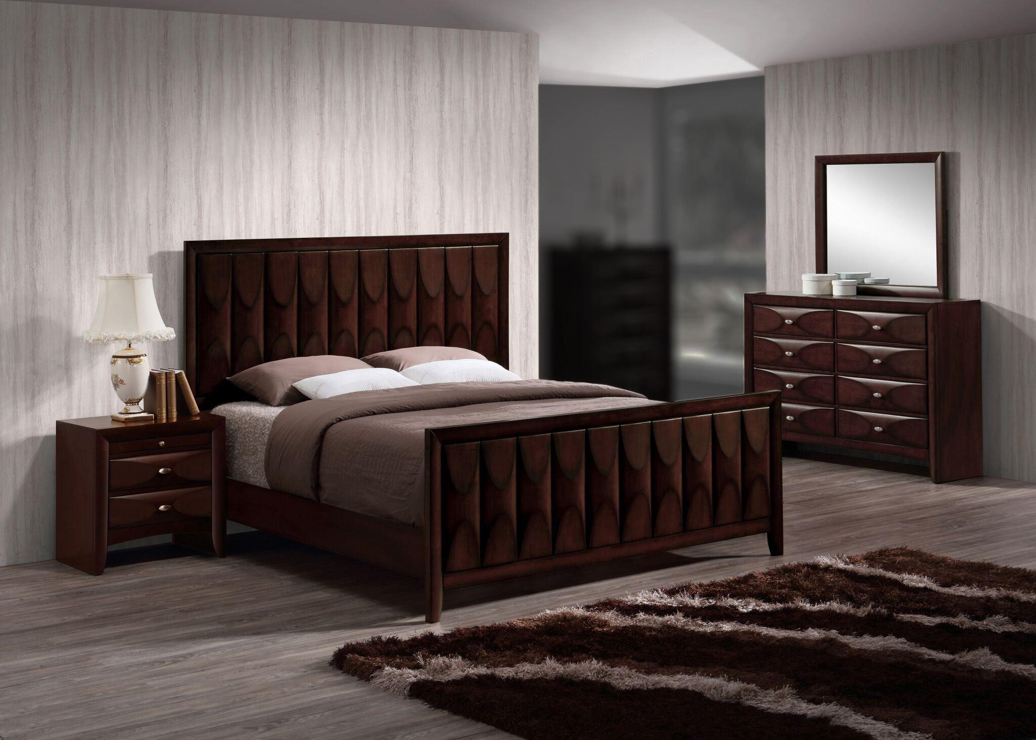 Lifestyle Banfield 4PC King Bedroom Set - Item Number: 6181B-4PC-KBR
