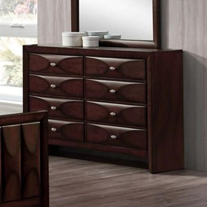 Lifestyle Banfield 8 Drawer Dresser