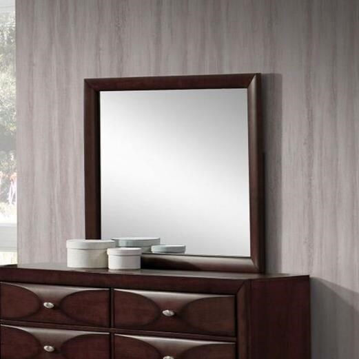 Lifestyle Banfield Mirror with Wood Frame - Item Number: C6181B-050-MHXX