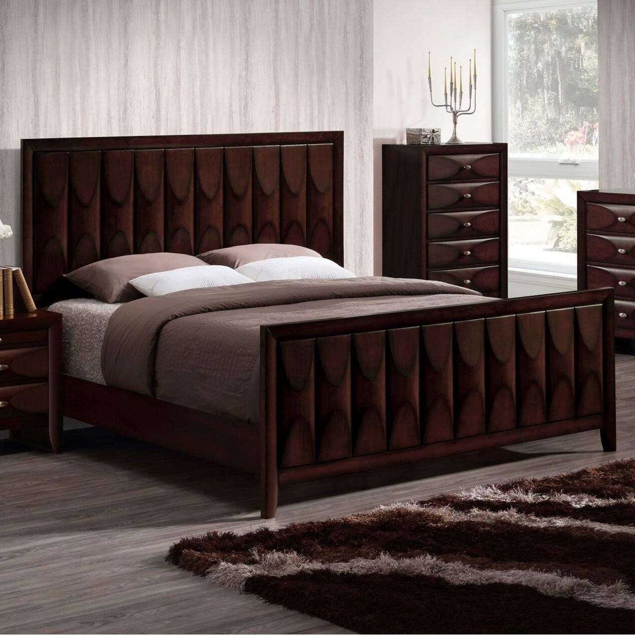 Lifestyle Banfield Queen Bed - Item Number: C6181B-Q48-XXXX+BXN
