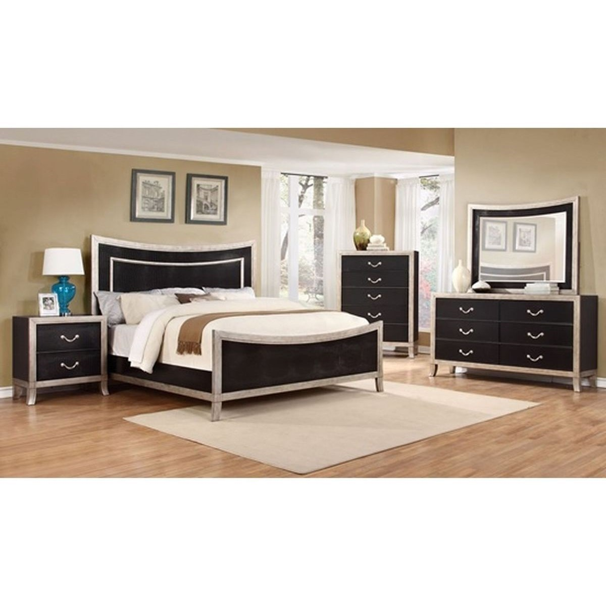 Lifestyle Natalia 5PC  Queen Bedroom Set - Item Number: 6199A Q Bedroom Group