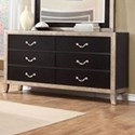 Lifestyle Natalia 6 Drawer Dresser - Item Number: C6199A-045-6DXX