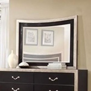 Lifestyle 6199A Mirror with Wood Frame