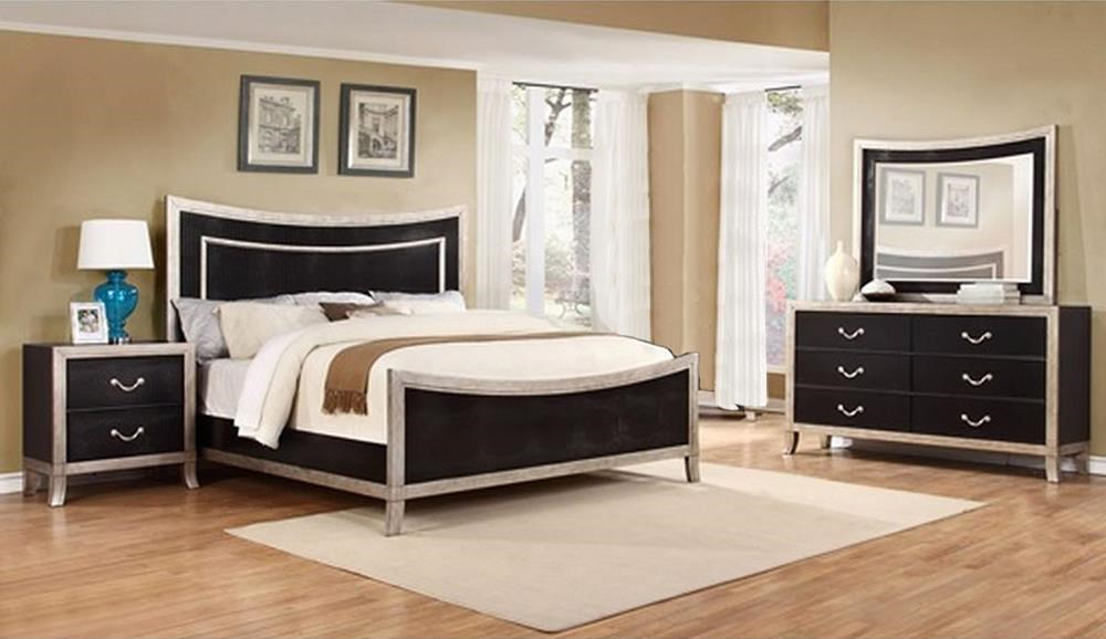 Lifestyle Natalia 4PC King Bedroom Set - Item Number: C6199A-4PC-KBR