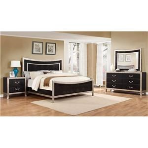 Lifestyle Natalia 4PC Queen Bedroom Set