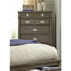 Lifestyle 6204G Grey Washed Chest