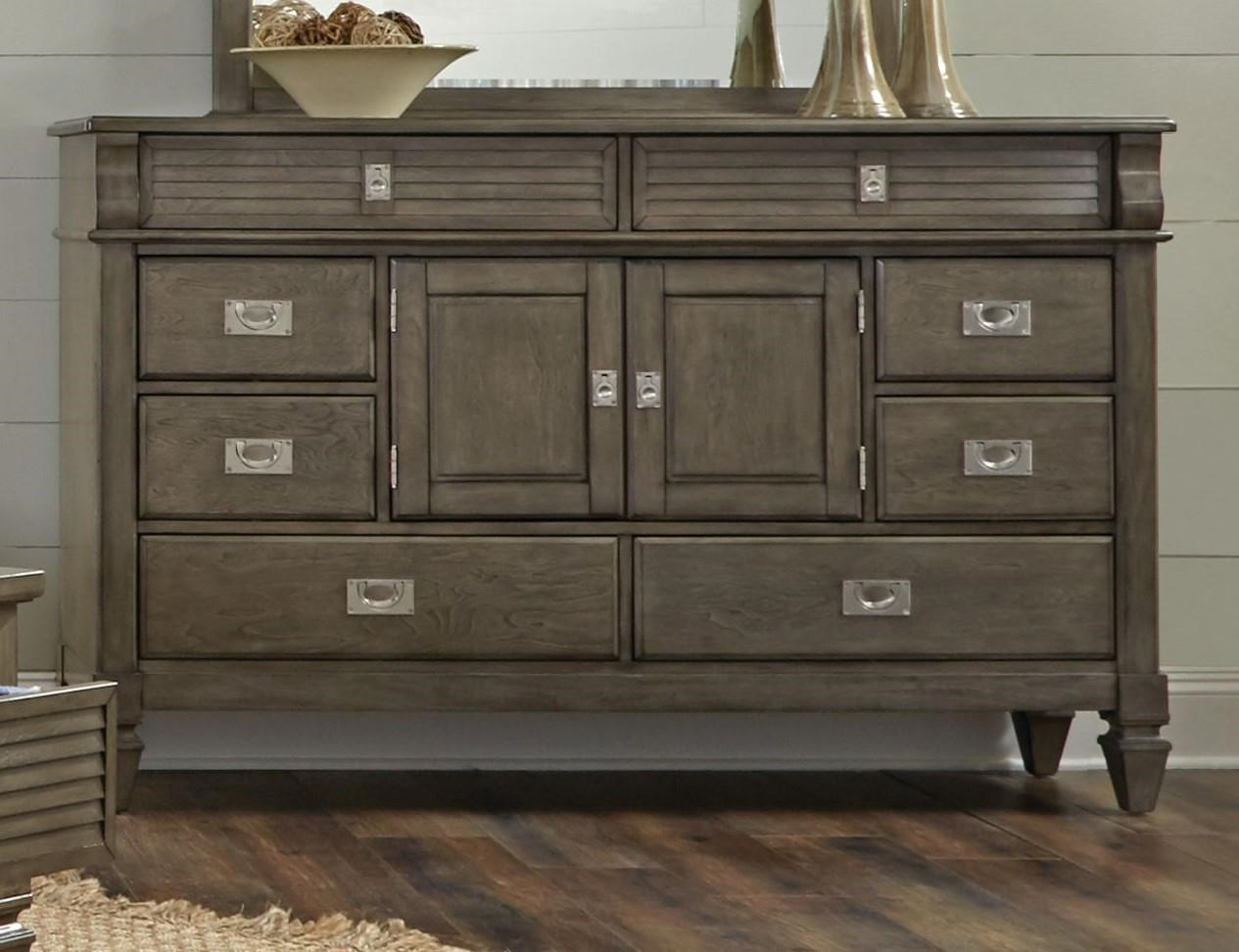 Lifestyle 6204G Grey Washed Dresser - Item Number: 6204G-Dresser