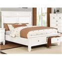 Lifestyle 6204W Queen size storage bed - Item Number: 6204W
