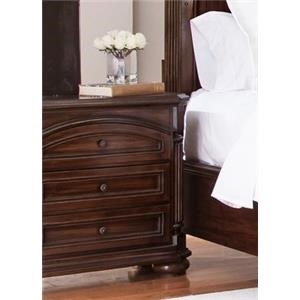 Lifestyle Empire 3 Drawer Night Stand
