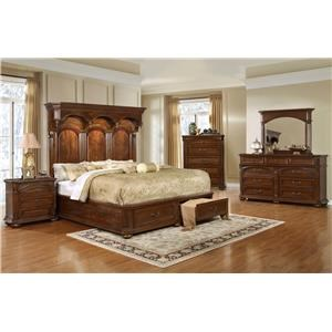Lifestyle Empire 5PC King Storage Bedroom Set