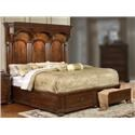 Lifestyle Empire King Storage Bed - Item Number: C6258A-GX0-XXXX+C6258A-GTG-2DXX