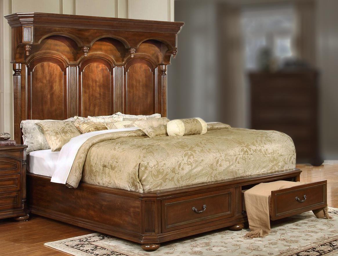 Lifestyle Empire Queen Storage Bed - Item Number: C6258A-QX0-XXXX+C6258A-QTG-2DXX