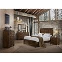 Lifestyle 6377 6 Piece Queen Bedroom Group - Item Number: C6377A-Q48+BXN+025+045+050