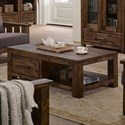 Lifestyle 6377 Coffee Table - Item Number: C6377O-OC1