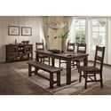 Lifestyle Kristen Casual Dining Room Group - Item Number: 6377D Casual Dining Room Group 1