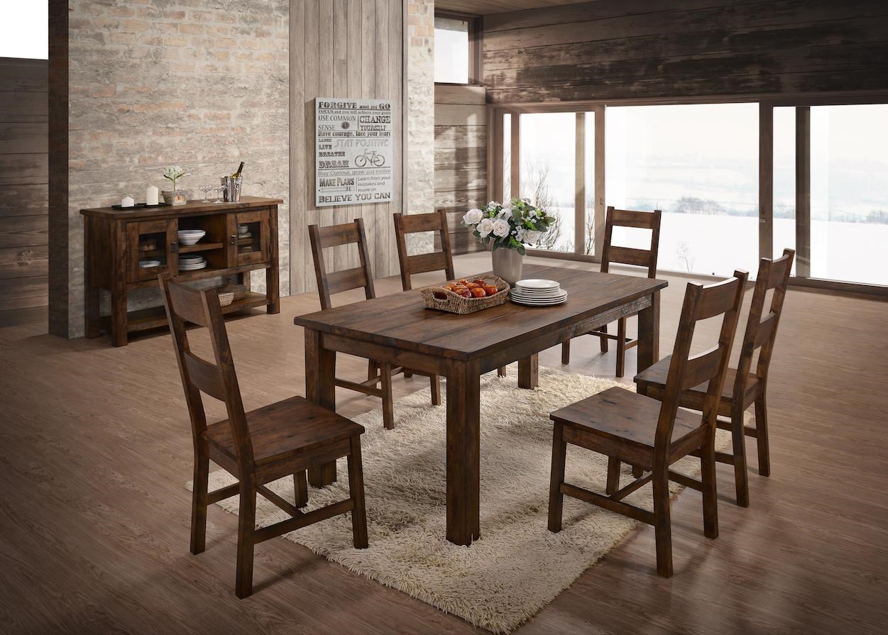 8 Piece Dining Group with Server