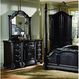 Lifestyle 7149A Dresser & Mirror Combo