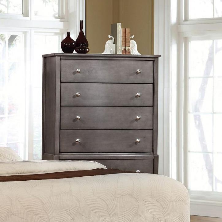 Alex Express Life 7185 Chest, 5 Drawers  - Item Number: C7185G-030