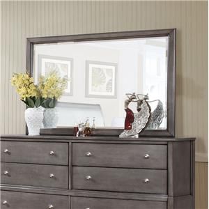 Alex Express Life 7185 Beveled Mirror w/ Wood Frame