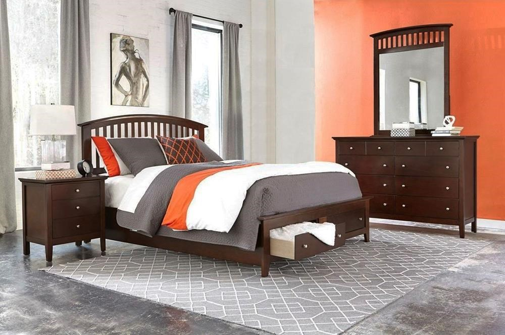 Lifestyle Bryce 4PC Queen Storage Bedroom Set - Item Number: 8237A-4PC-QSBR