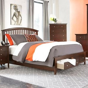 Lifestyle Bryce King Storage Bed