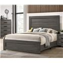 Lifestyle 8321 Queen Panel Bed - Item Number: 520383213