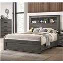 Lifestyle 8321 Queen Bookcase Bed - Item Number: 570383213