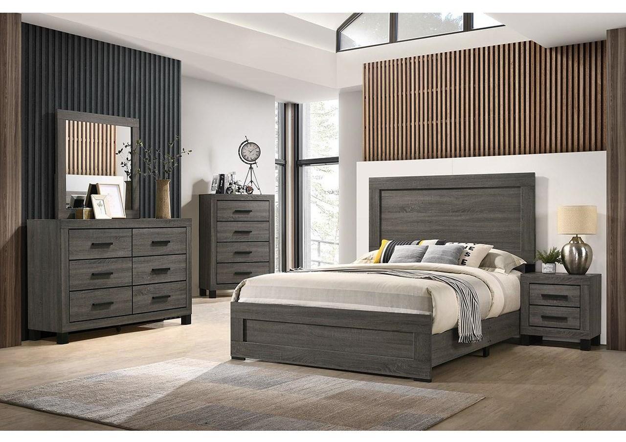6 Piece Full Panel Bedroom Group