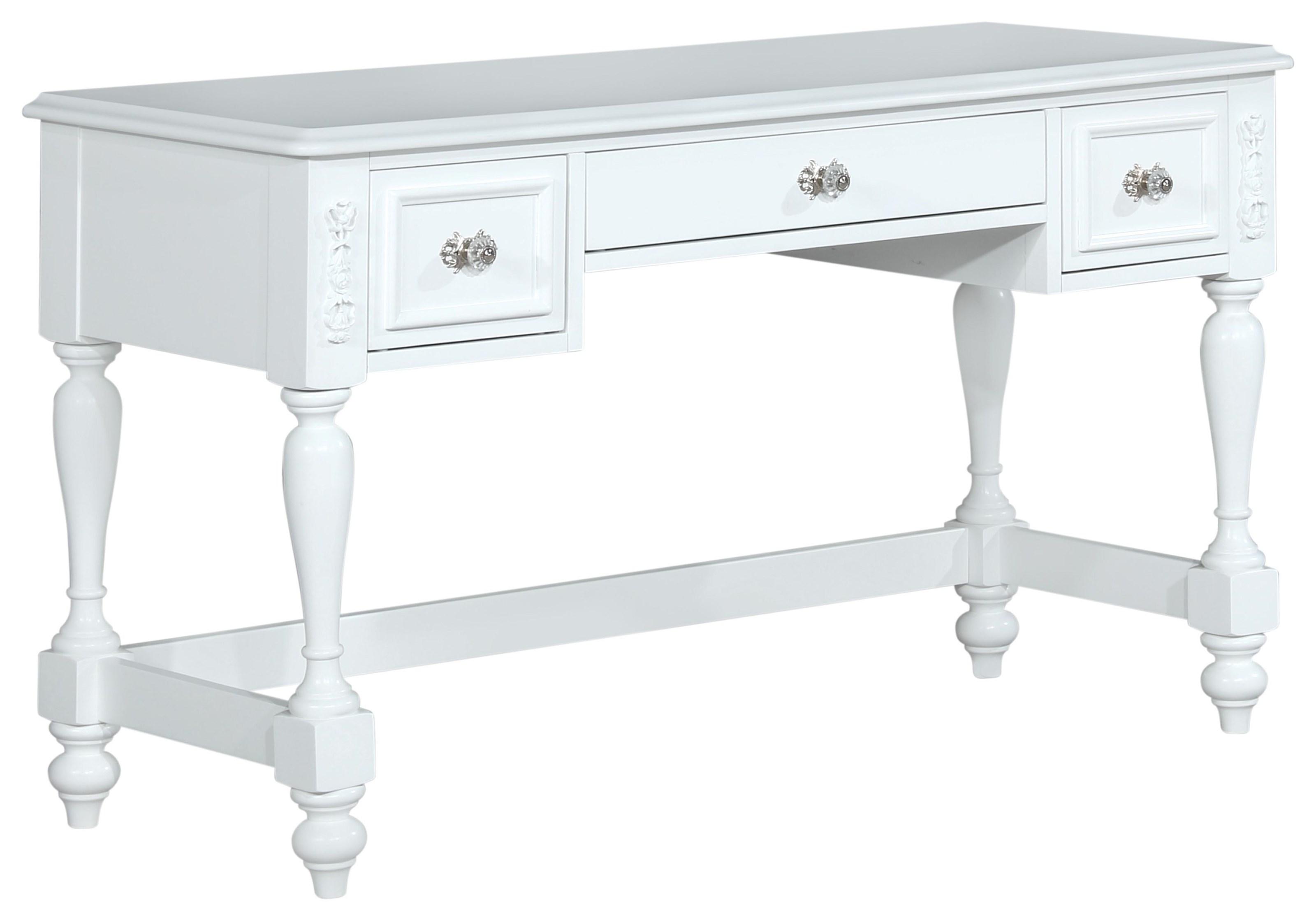 8446A Three Drawer Desk by Lifestyle at Furniture Fair - North Carolina