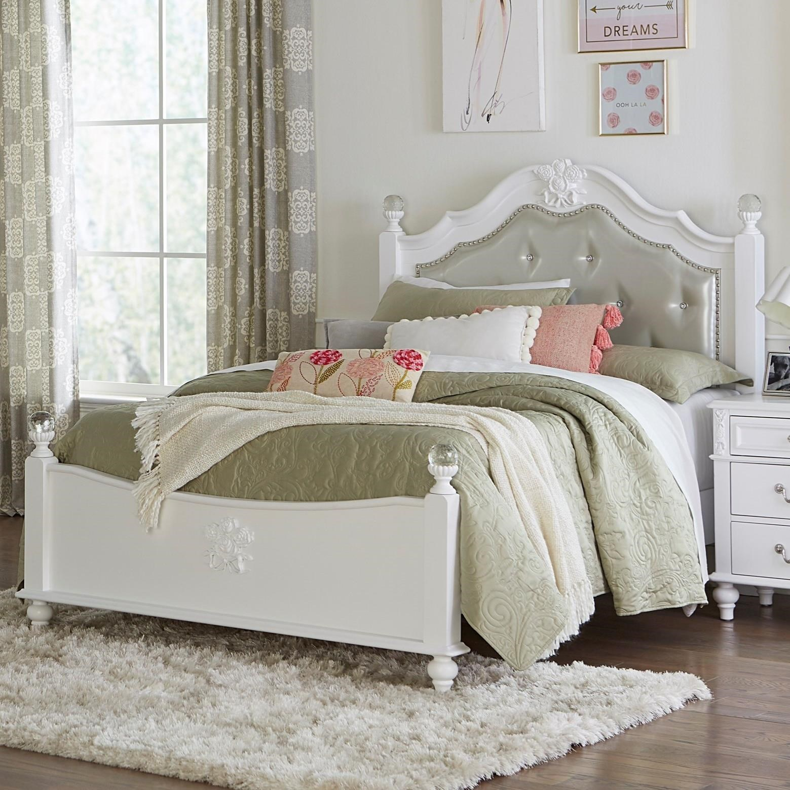 8446A Twin Bed by Lifestyle at Furniture Fair - North Carolina