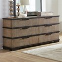 Lifestyle Mikala Dresser - Item Number: C8449A-045