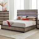 Lifestyle Mikala King Platform Bed - Item Number: C8449A-GPT+GXG+BXN