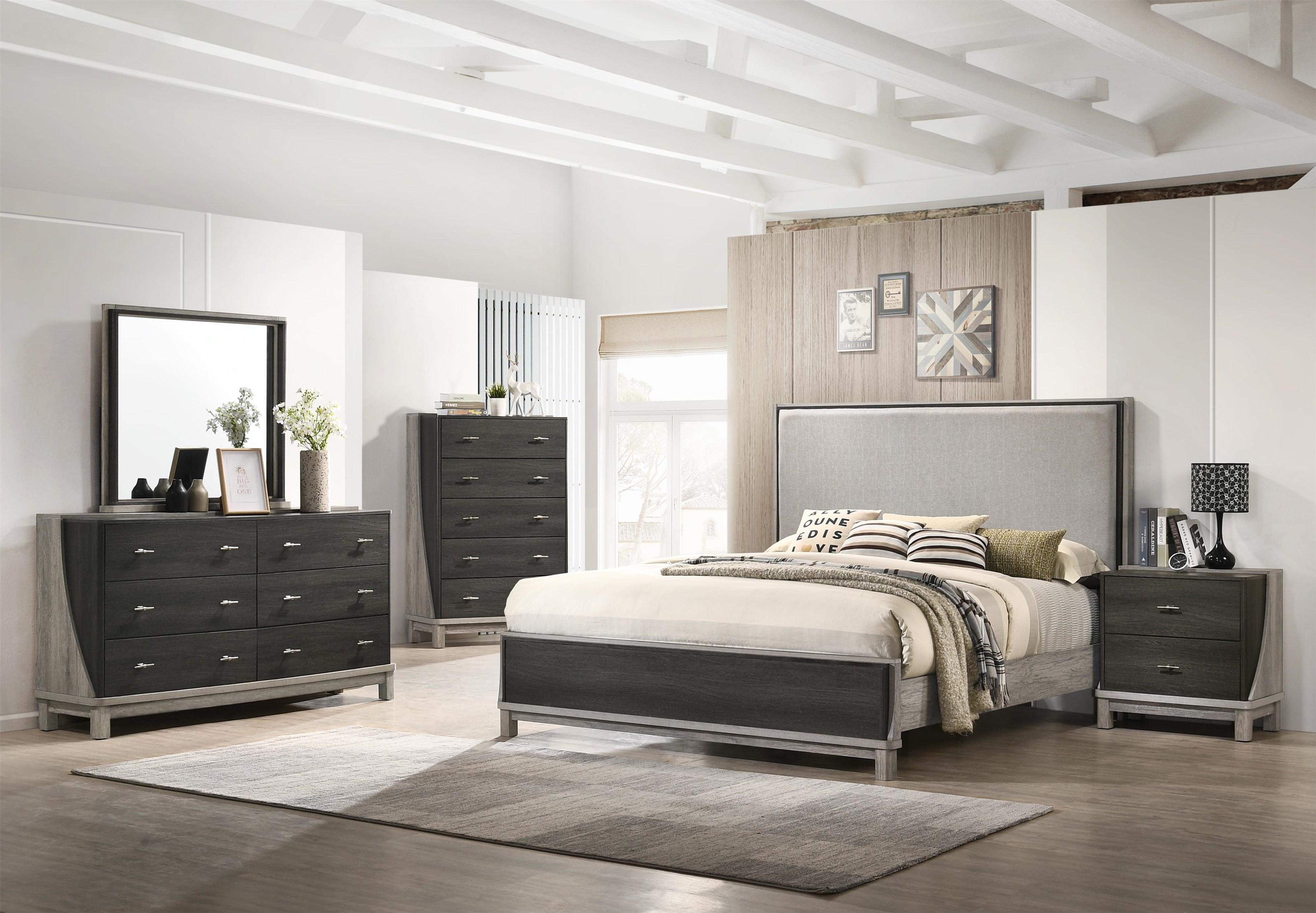 6 Piece Queen Bedroom Group
