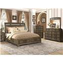 Lifestyle Lorrie King 5 Pc Bedroom Group - Item Number: C8472 5-Pc King Bedroom