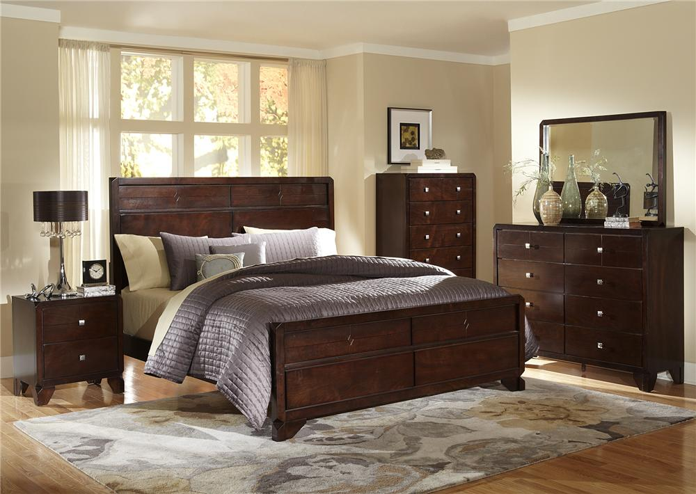 Lifestyle 2180A Queen Bed - Item Number: C2180A-QXB-BXN-XXCO