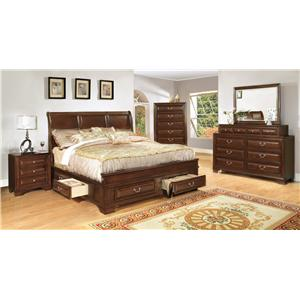 Lifestyle B1172 King Bedroom Group